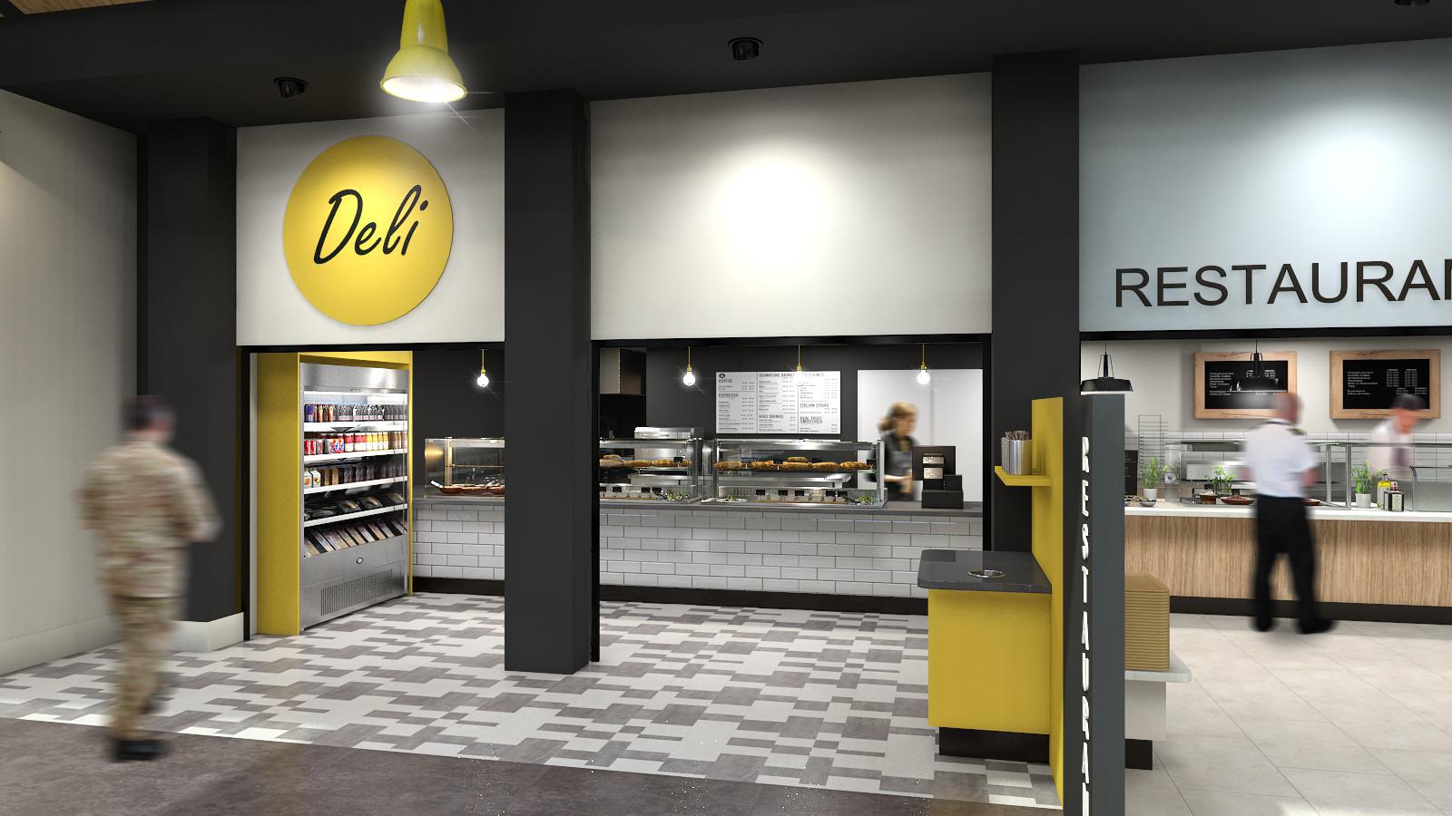 Deli Design Somerset. Interior Designer. Hospitality designer