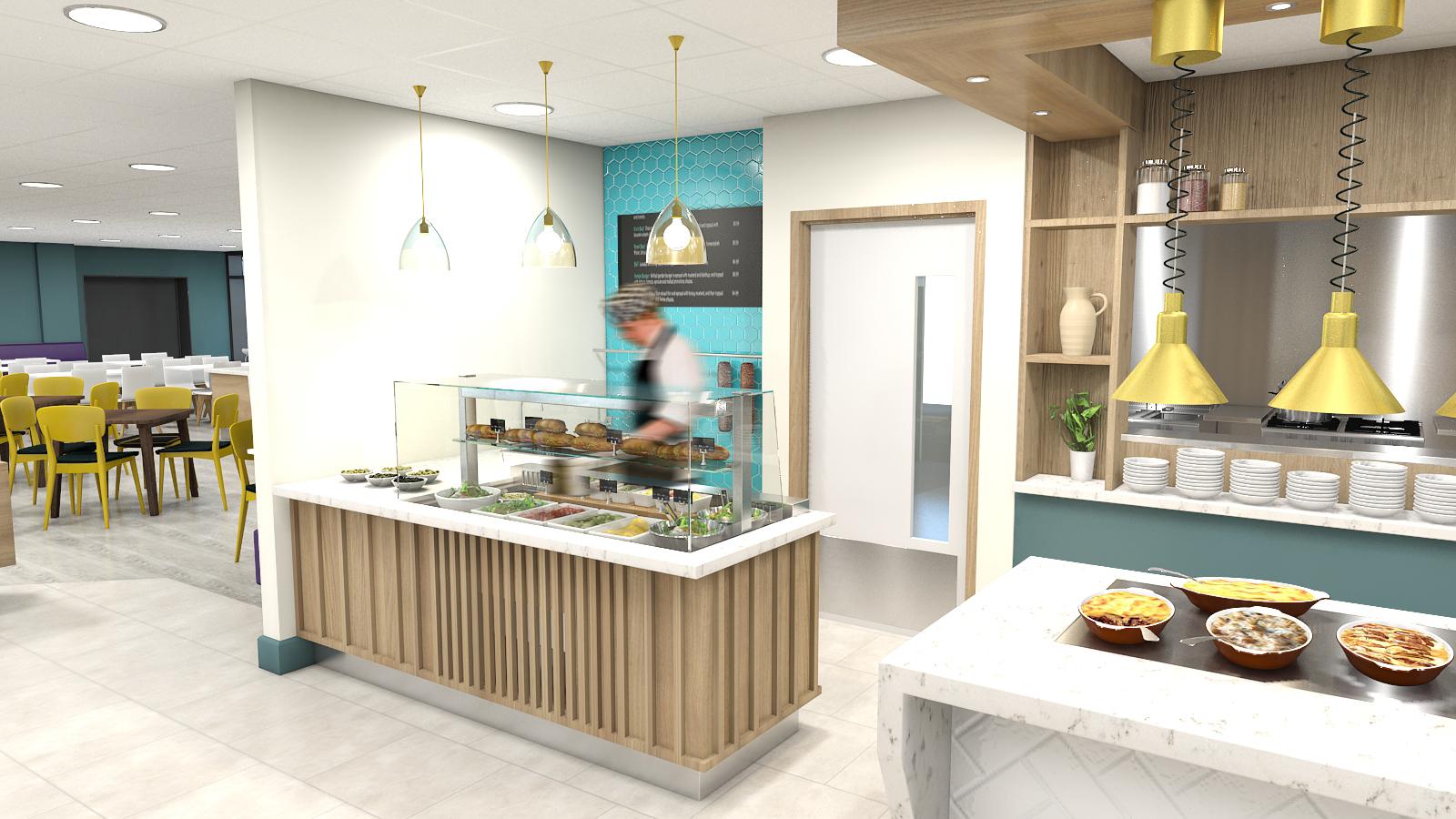 hospitality design, hospitality designer. Deli, interior designer
