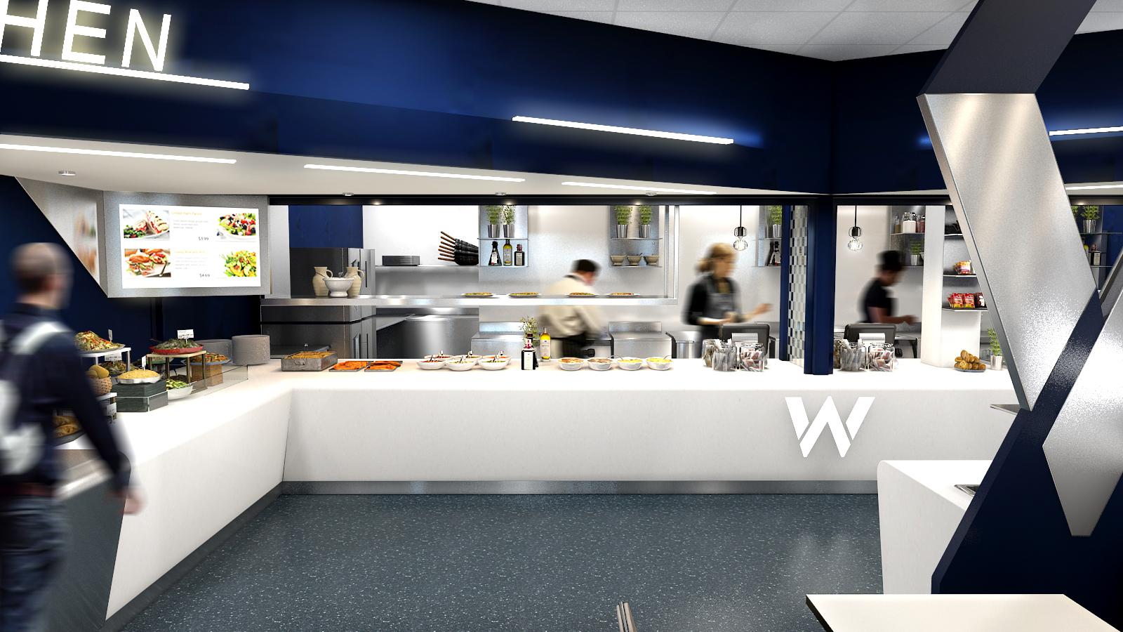 Staff Restaurant design