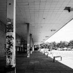 urban styling, graffiti, architecture, milton keynes, bus station, skateboard park, graphical elements, interior design influences